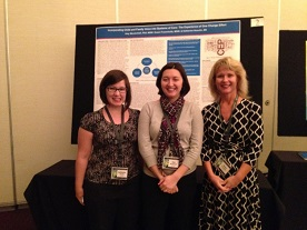 Kate Heavilin, Dr. Amy Mendenhall, and Susan Frauenholtz