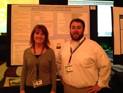 Dr. Megan O'Brien and Kyle Chapman